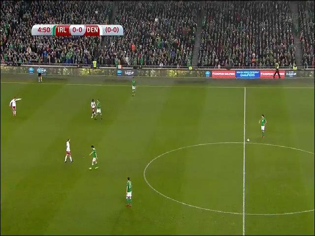 Ireland 1-5 Đan Mạch