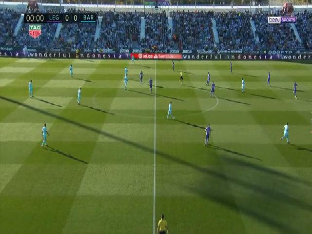 Leganes 0-3 Barcelona