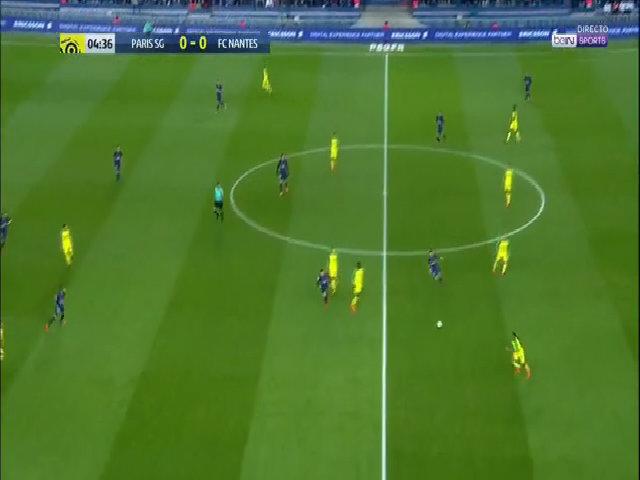 Paris Saint Germain 4-1 Nantes