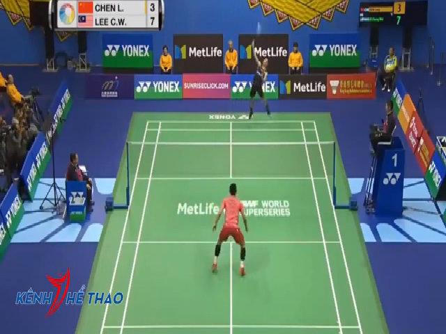 Lee Chong Wei thắng nhanh Chen Long, vô địch Hong Kong Mở rộng