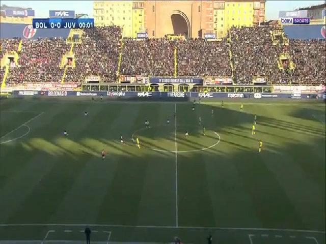 Bologna 0-3 Juventus