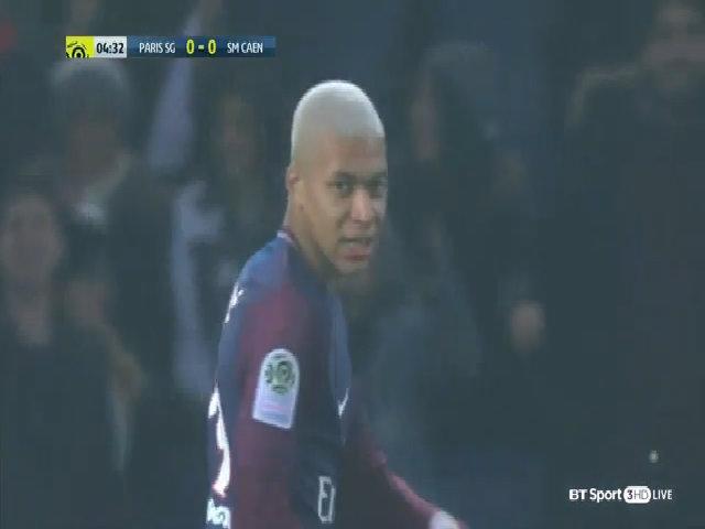 Paris Saint Germain 3-1 Caen