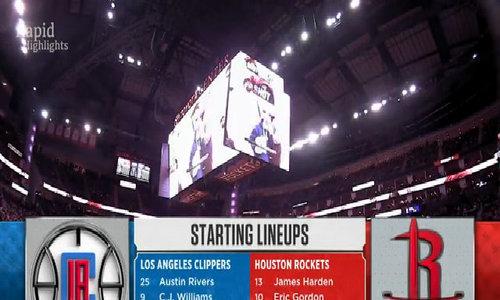 LA Clippers vs Houston Rockets