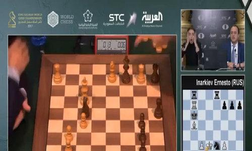 Vua cờ Carlsen suýt thua vì mánh khóe của đối thủ