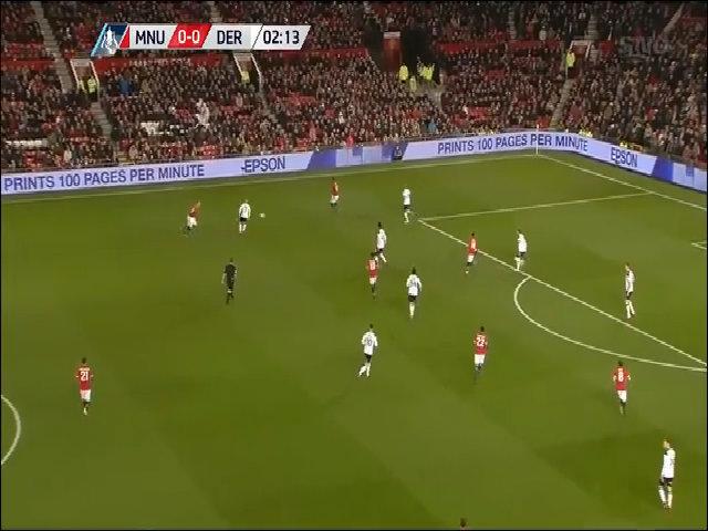 Man Utd 2 - 0 Derby County
