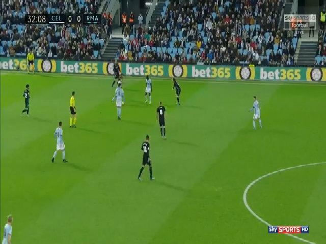 Celta Vigo 2-2 Real Madrid