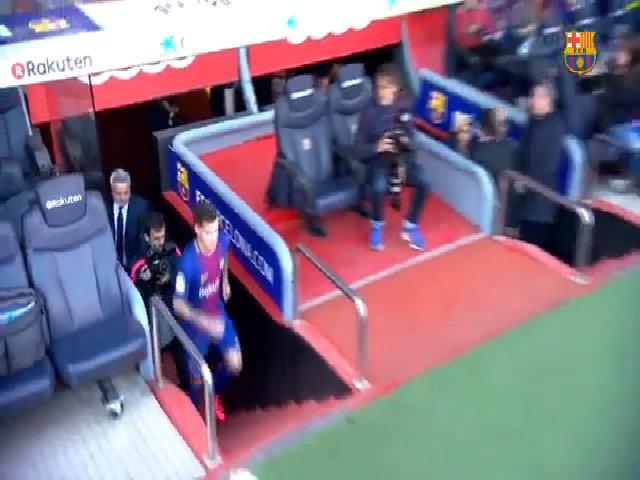 Coutinho ra mắt Barca