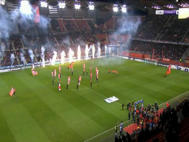 Rennes 1-6 Paris Saint Germain