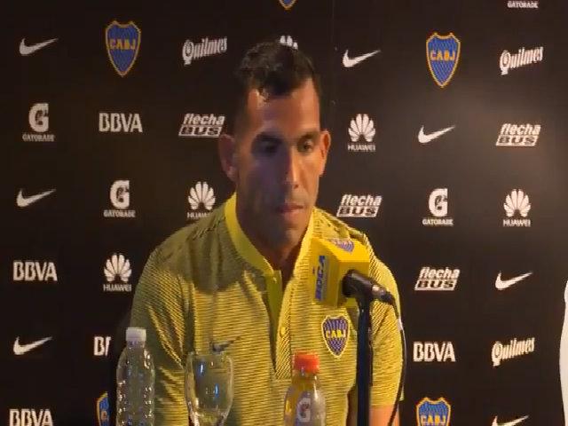 Tevez phỏng vấn Boca