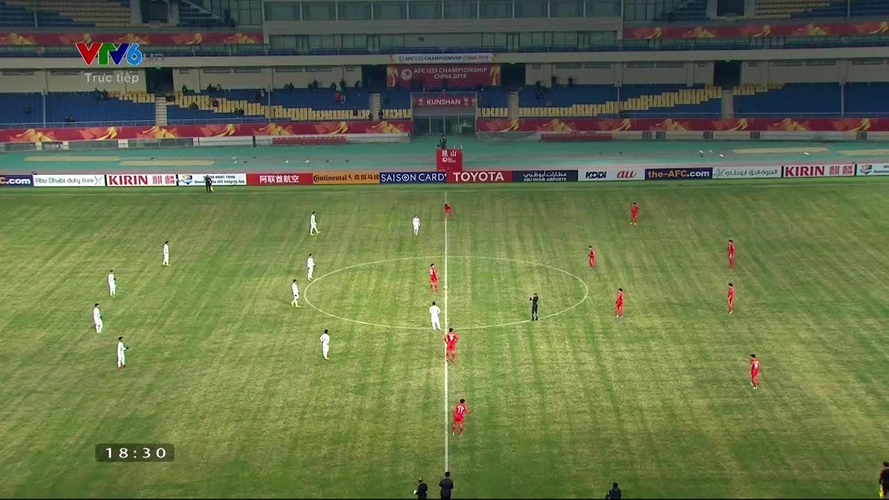 Trực tiếp:U23 Hàn Quốc - U23 Việt Nam