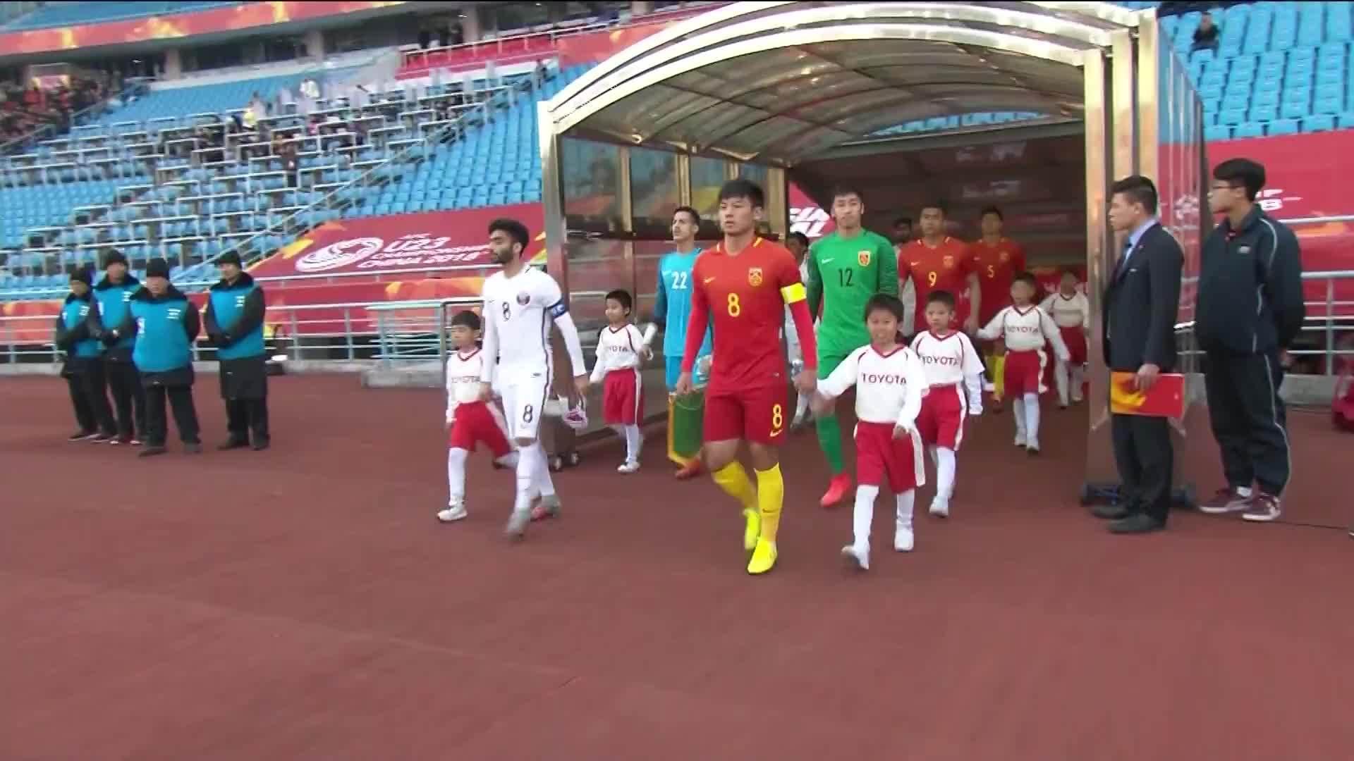 Trung Quốc 1-2 Qatar