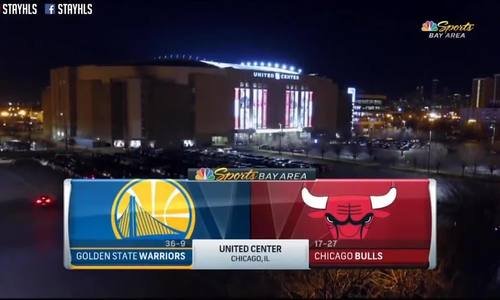 Golden State Warriors - Chicago Bulls
