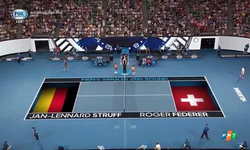 Jan-Lennard Struff 0-3 Roger Federer