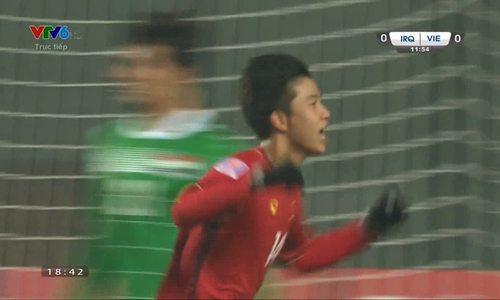 Việt Nam hạ Iraq trong loạt luân lưu, vào bán kết U23 châu Á - Video embed - VnExpress Thể Thao