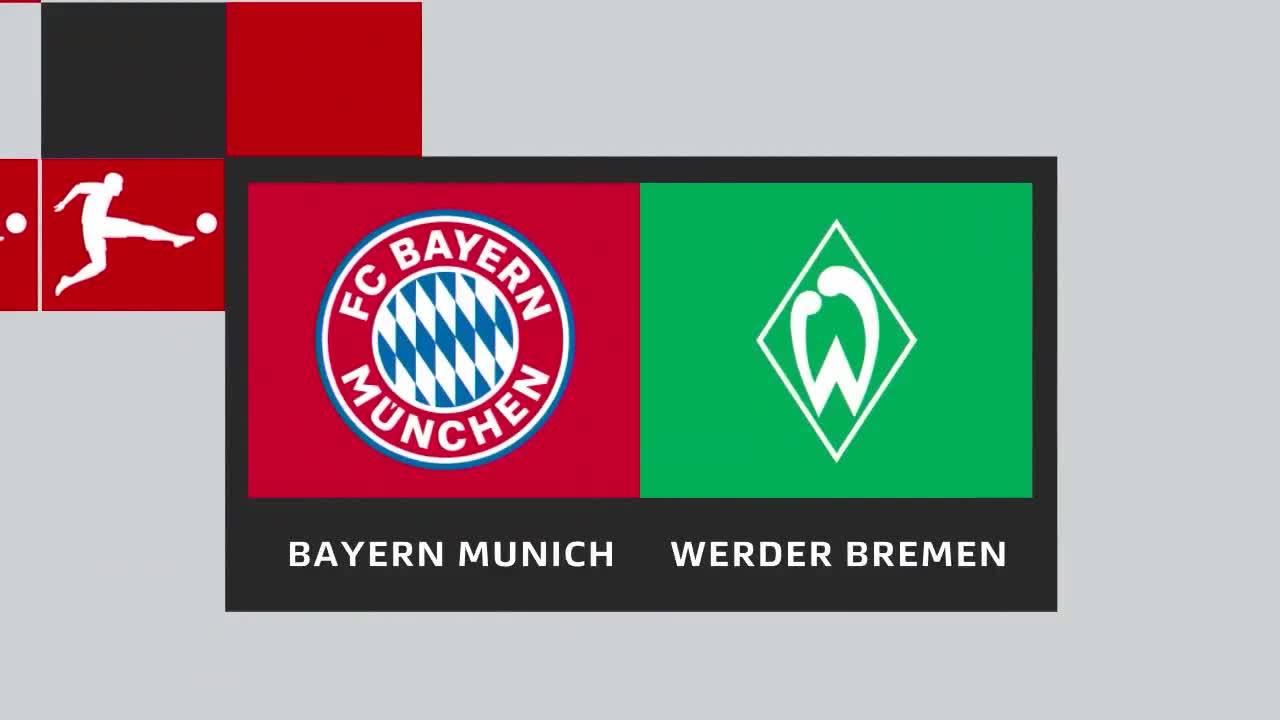 Bayern Munich 4-2 Werder Bremen