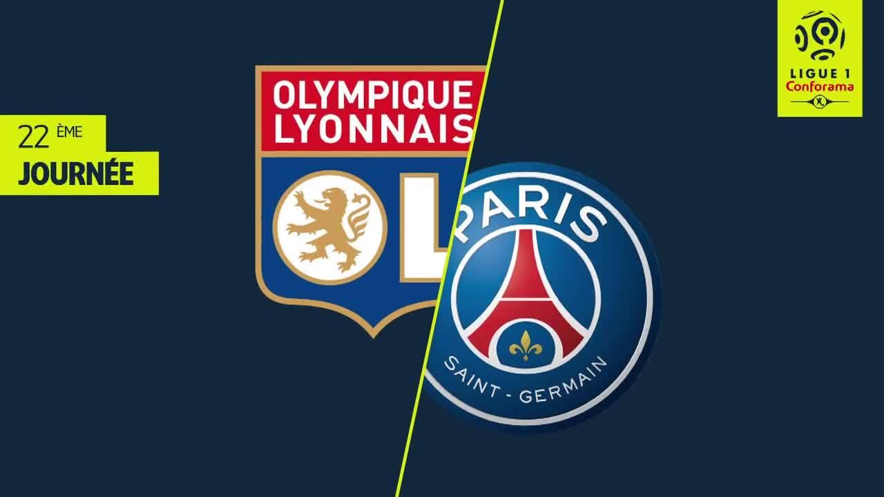 Lyon 2-1 Paris Saint Germain