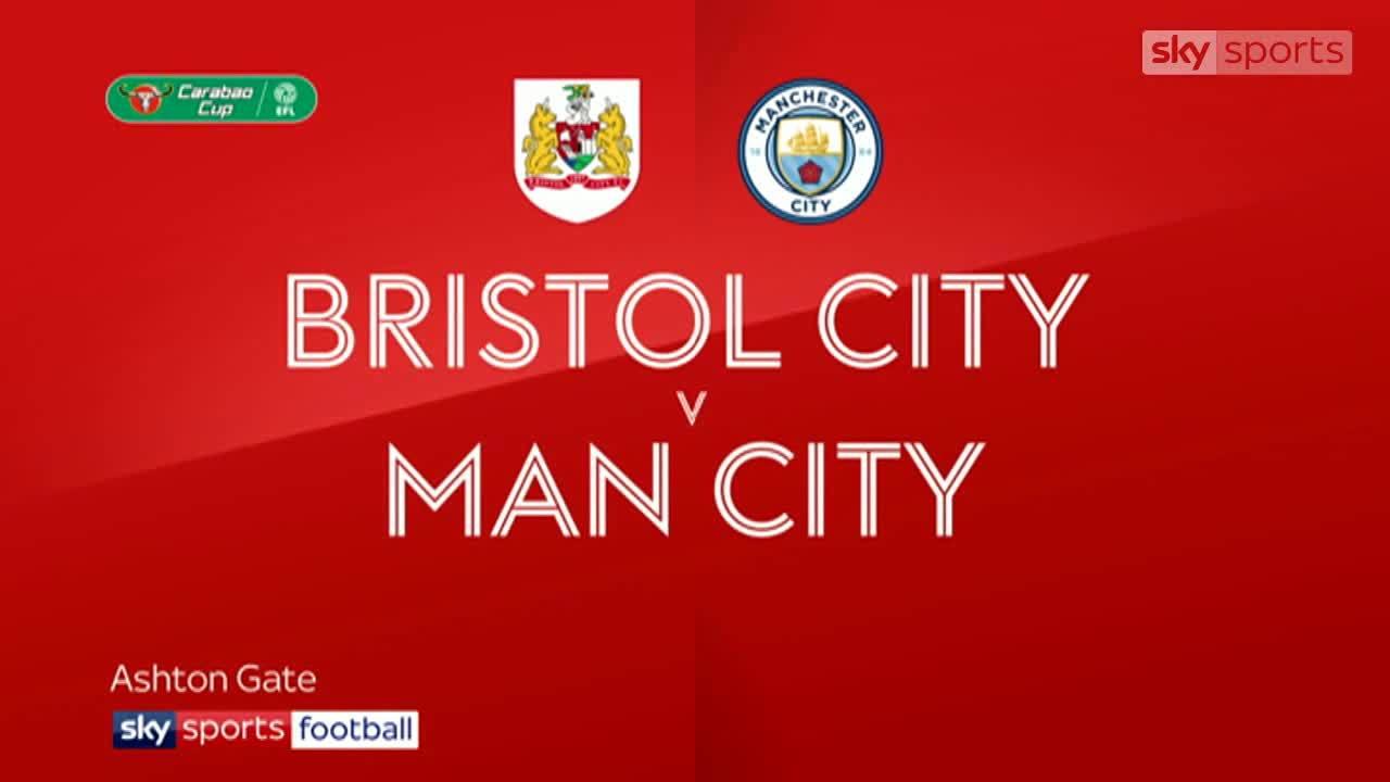 Bristol City 2-3 Man City (pen 3-5)