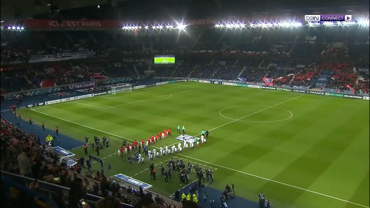 Paris Saint Germain 4-2 Guingamp