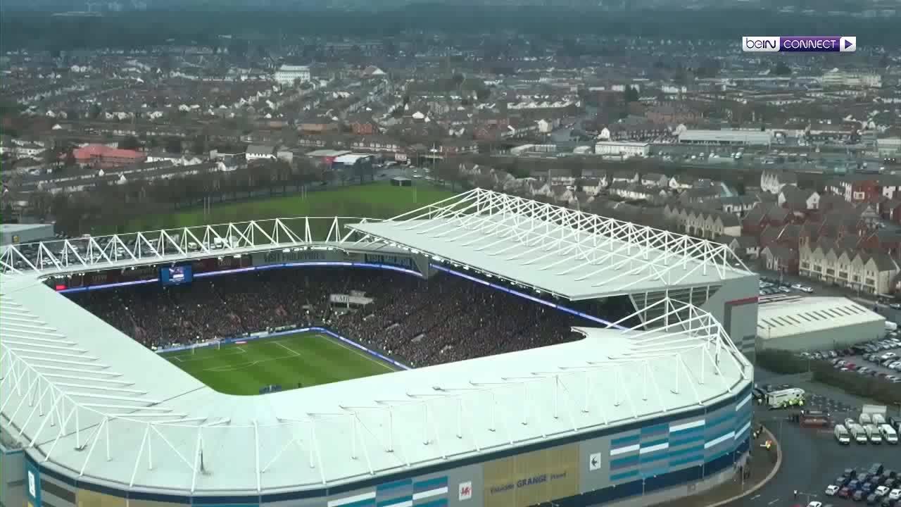 Cardiff City 0-2 Manchester City