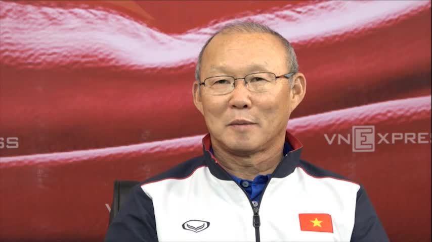 Phỏng vấn trực tuyến HLV Park Hang-seo