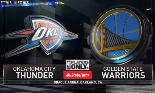 Golden State Warriors - Oklahoma City Thunder