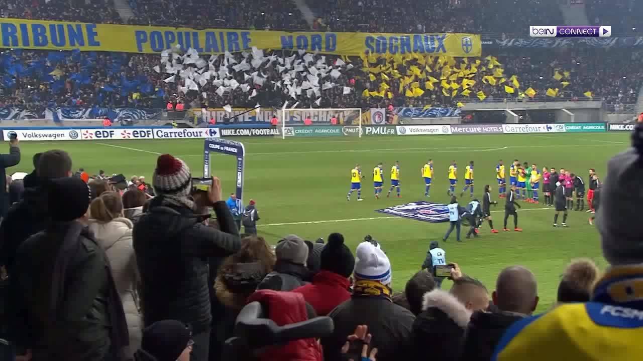 Sochaux 1-4 Paris Saint Germain