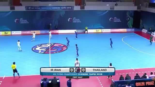 Iran thắng Thái Lan 9-1 ở tứ kết futsal châu Á