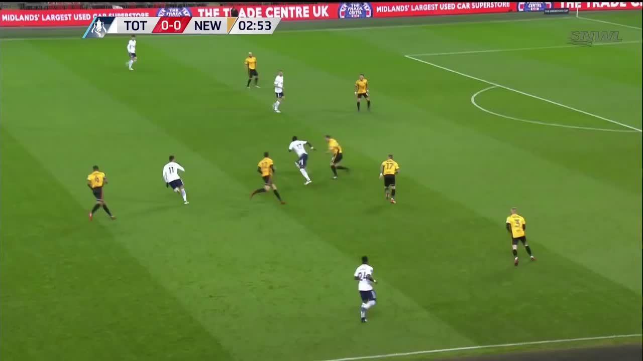 Tottenham 2-0 Newport County Cup FA 2018