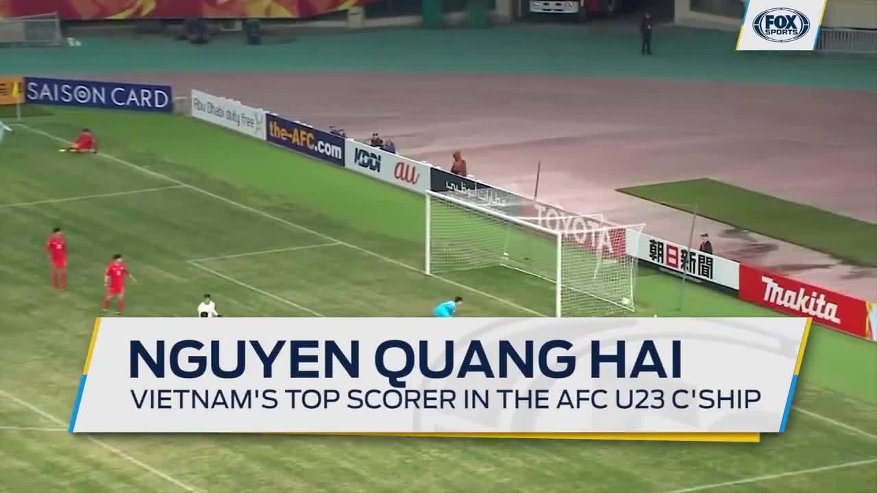 5 bàn thắng của Quang Hải