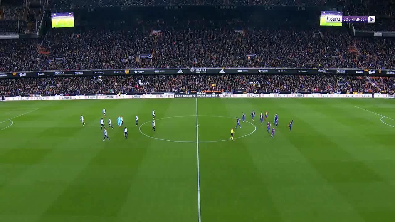 Valencia 0-2 Barcelona