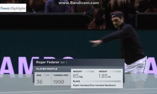 Federer vs Bemelmans