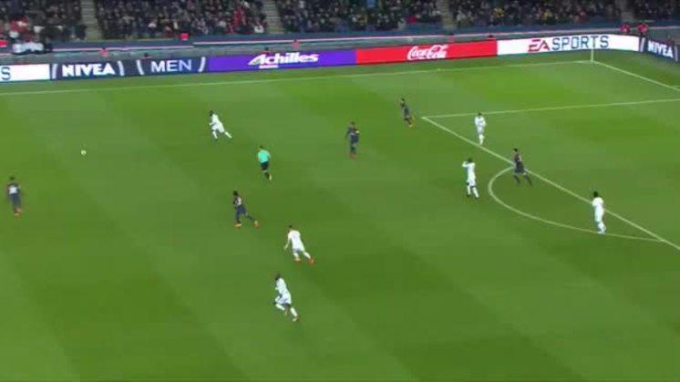 Neymar biểu diễn vs Strasbourg