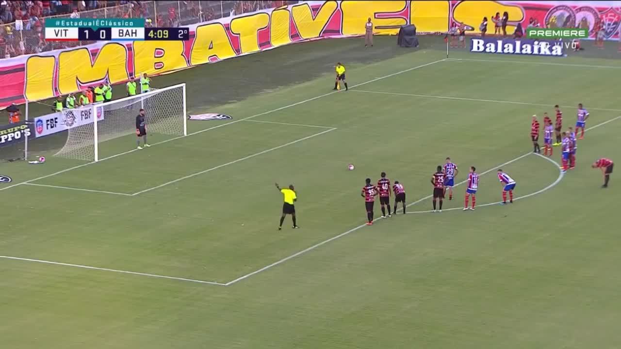 Vitoria vs Bahia 9 cầu thủ bị đuổi