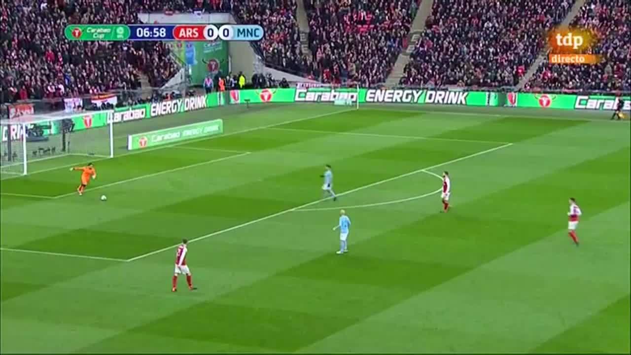 Arsenal 0-3 Man City