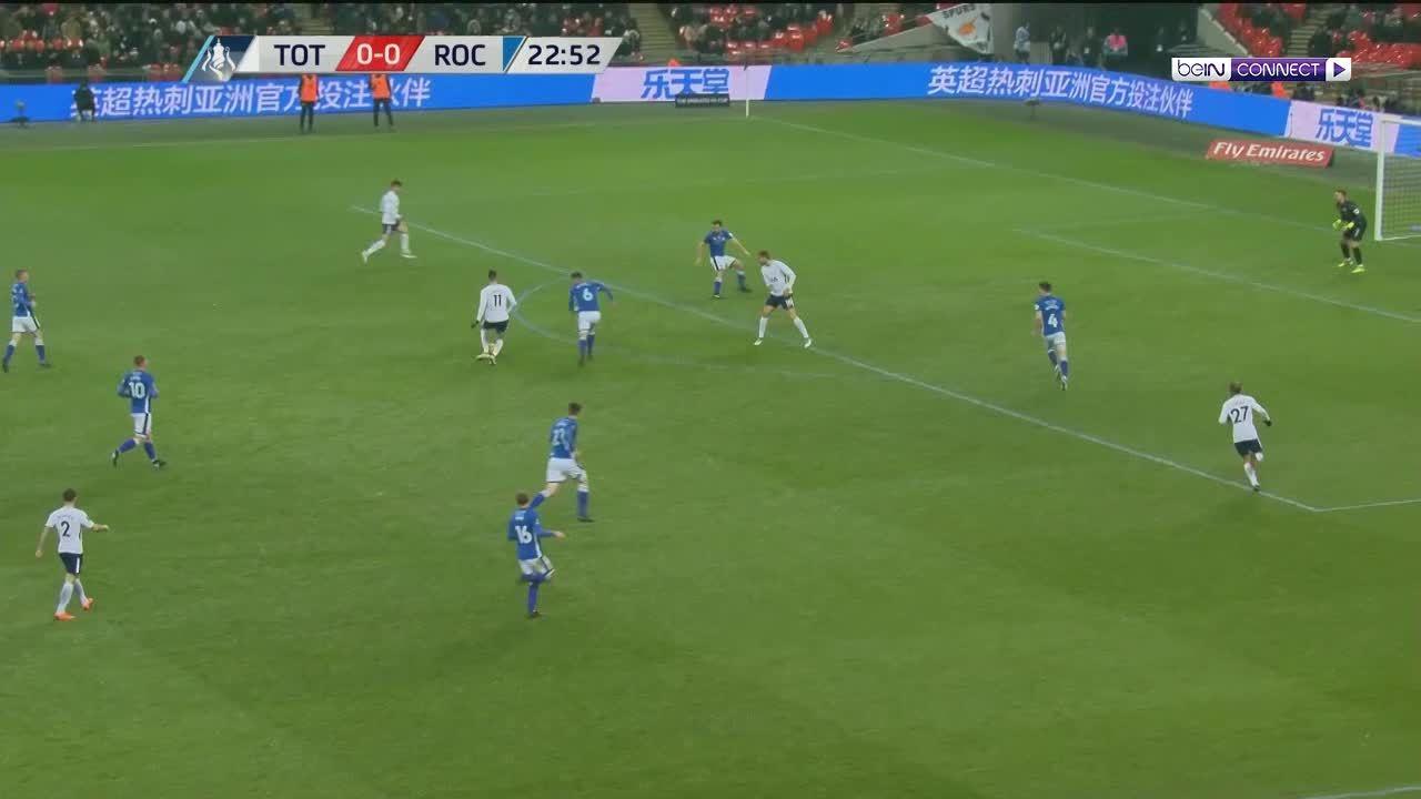 Tottenham 6-1 Rochdale