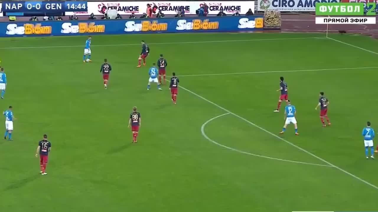 Napoli 1-0 Genoa 2018