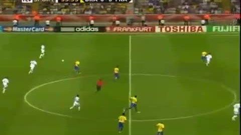 Bàn thắng của Henry vào lưới Brazil ở World Cup 2006
