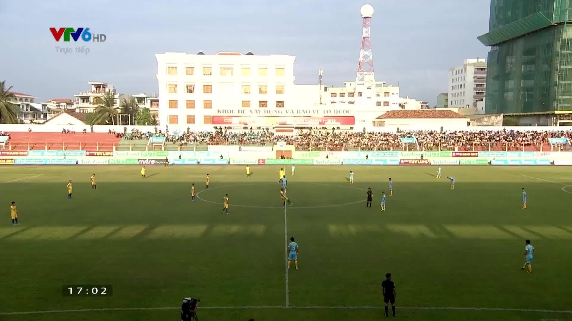 Trực tiếp:Khánh Hòa - Thanh Hóa