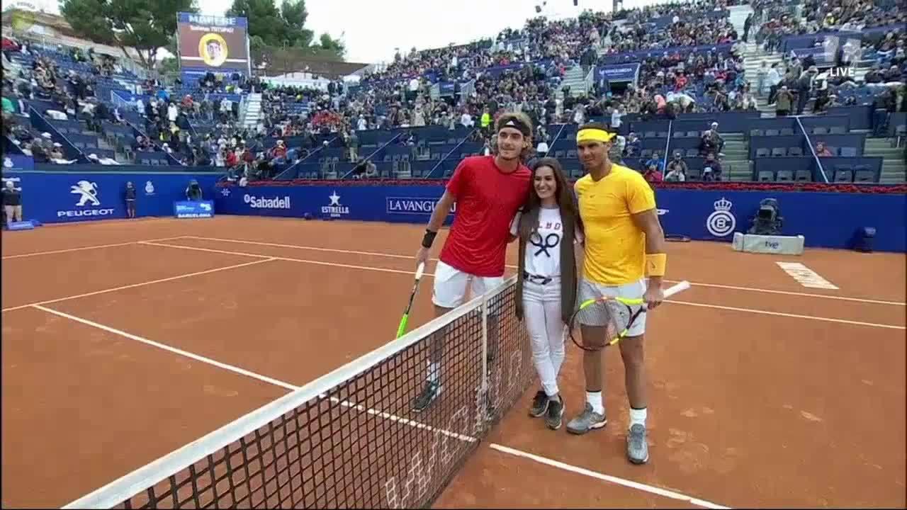 Rafael Nadal 2-0 Stefanos Tsitsipas