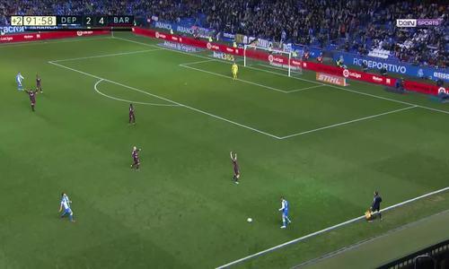 Deportivo La Coruna 2-4 Barca