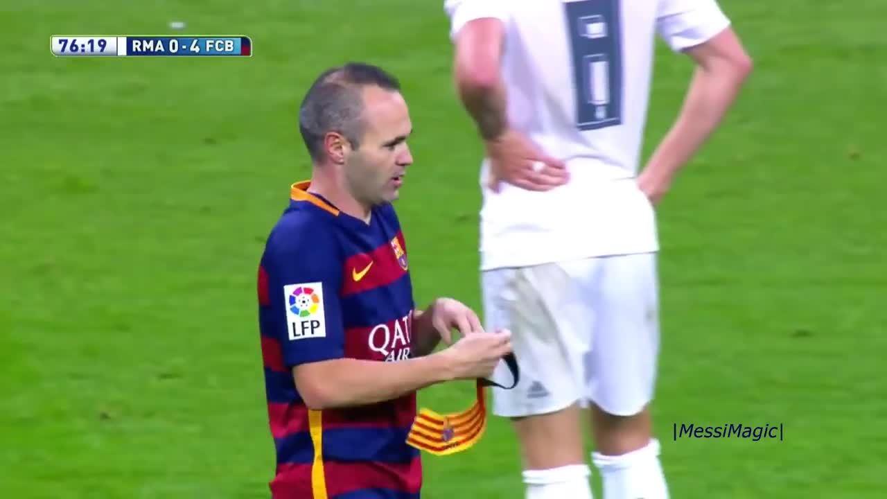 Iniesta rời Barca: Khi chuyến tàu về phía hoàng hôn