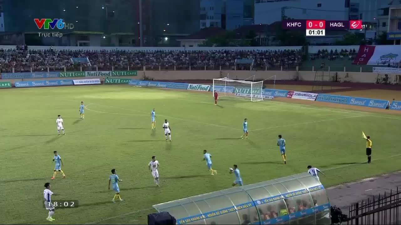 Khánh Hòa 1-1 Hoàng Anh Gia Lai