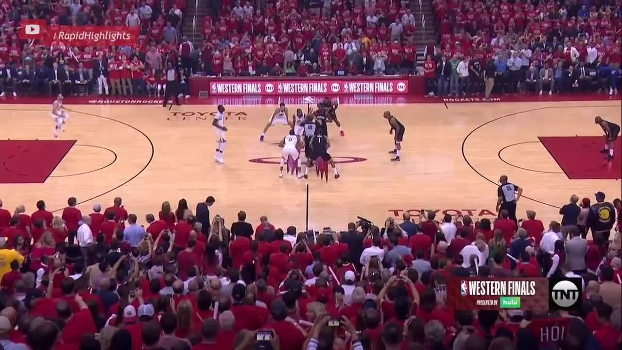 Diễn biến chính game 1 trận Rockets - Warriors