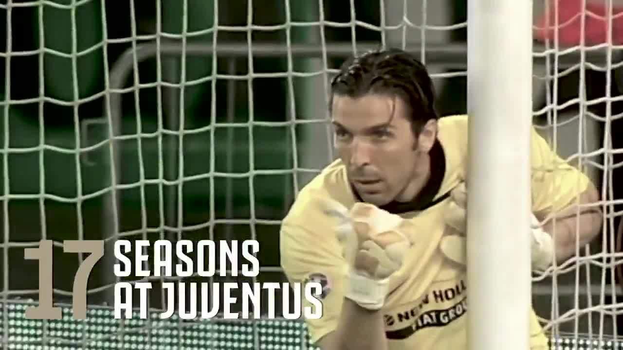 Buffon và những con số ấn tượng cùng Juventus