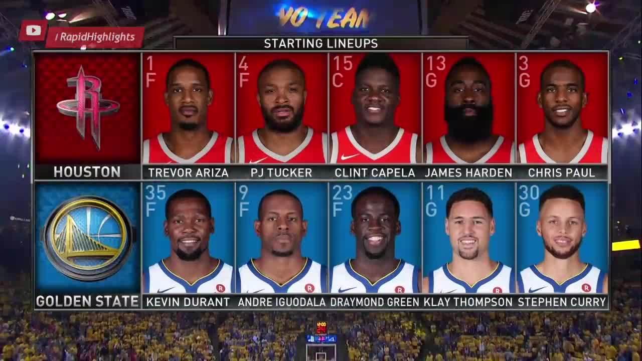 Houston Rockets - GS Warriors