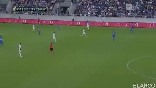 Italy 2-1 Saudi Arabia 2018