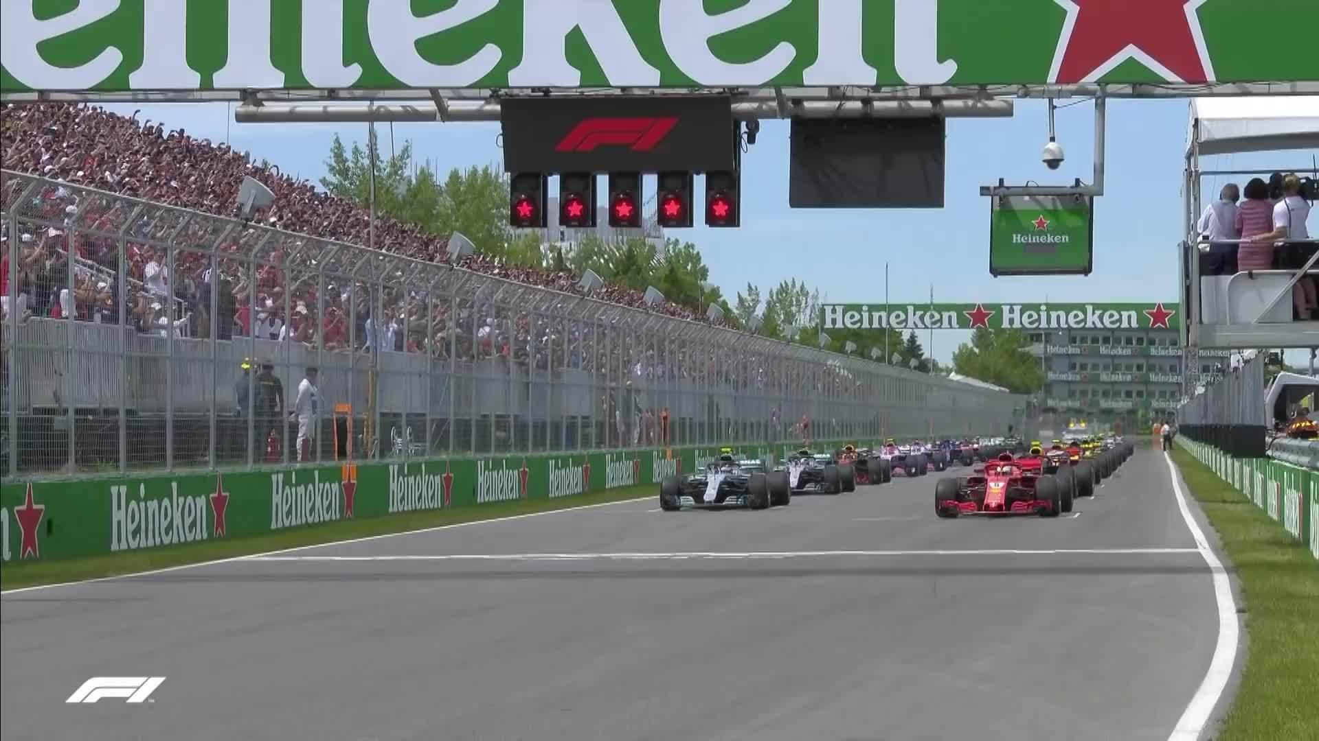 Vettel về nhất chặng GP Canada