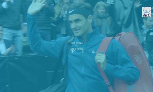 Roger Federer 2-1 Mischa Zverev