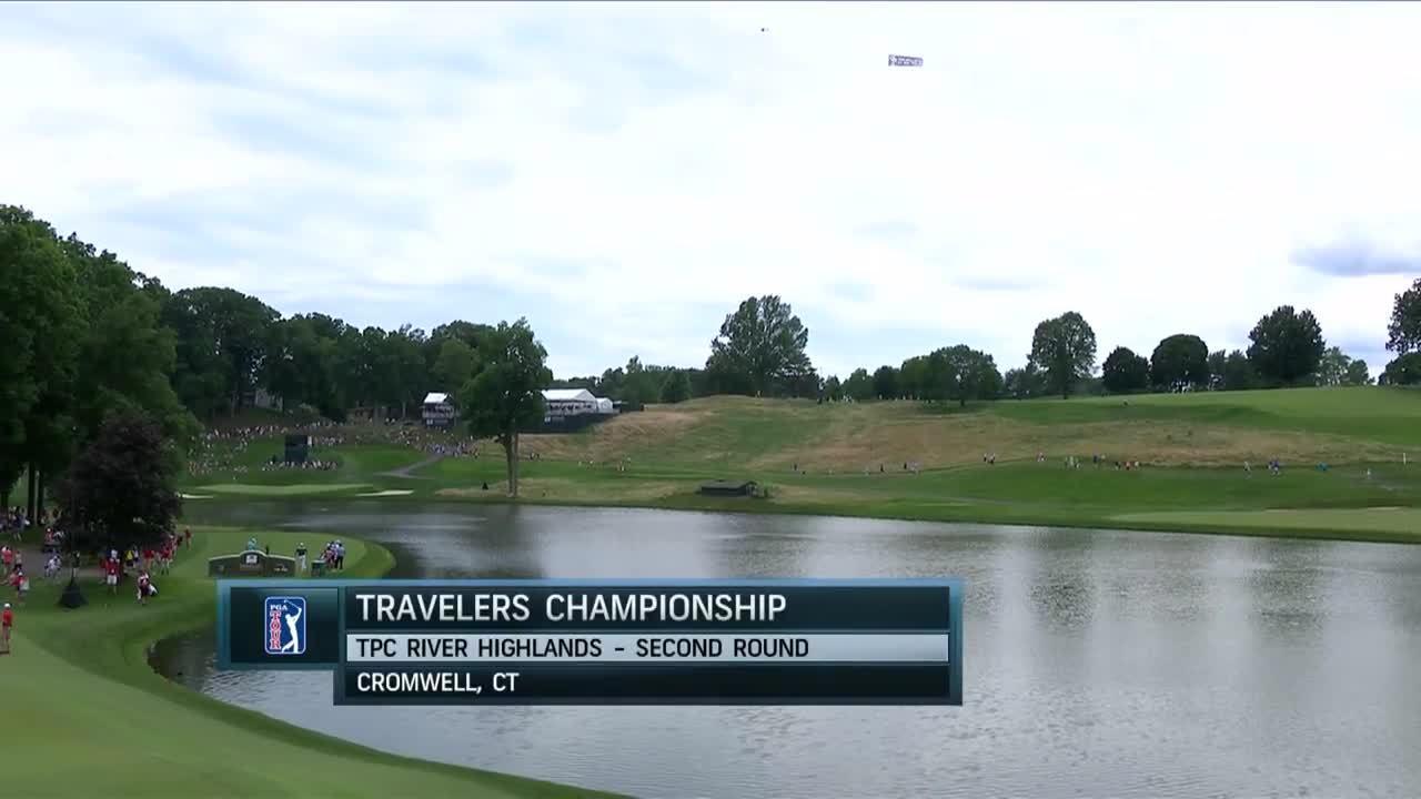 Diễn biến vòng hai Travelers Championship