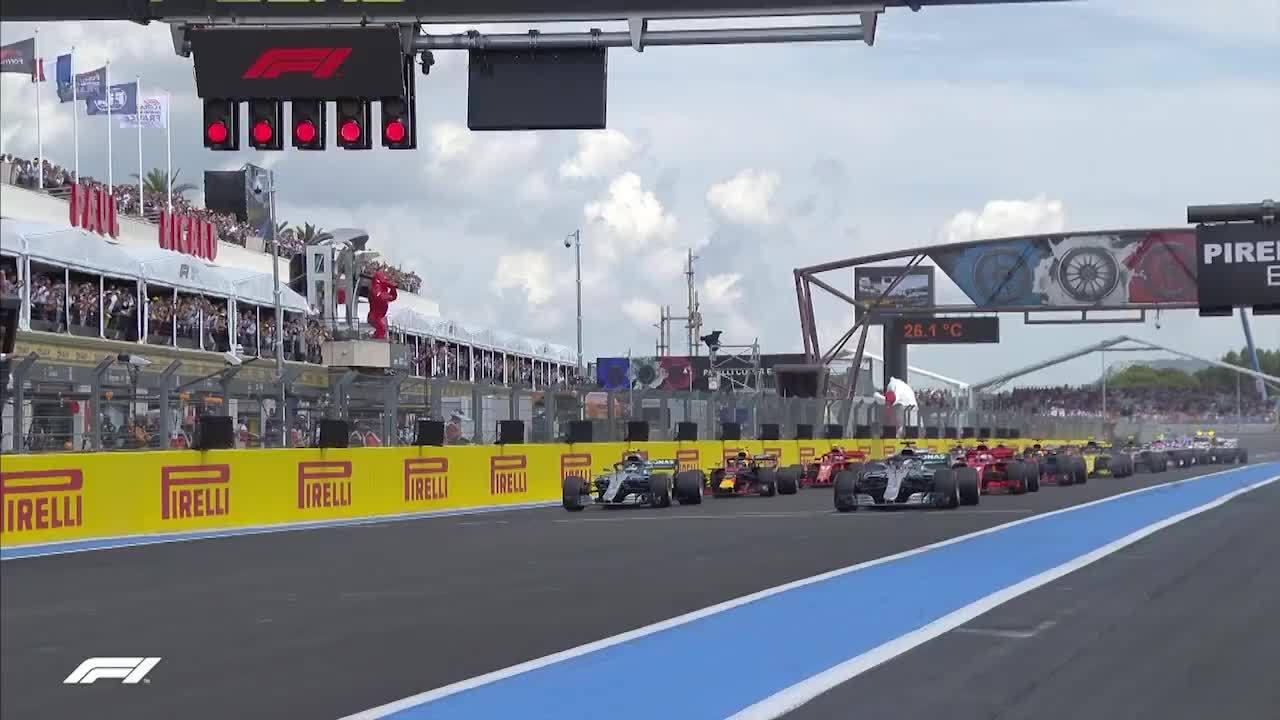 Hamilton về nhất tại Pháp GP